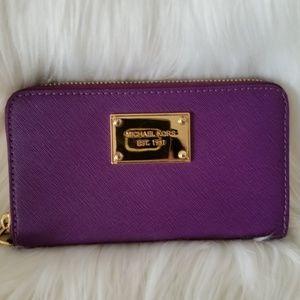 Michael Kors Wallet, Purple (Violet), NWOT!